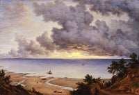 Sandown Bay, from near Shanklin Chine, Isle of Wight (1827), John Glover