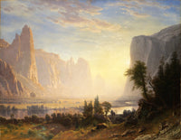 Valley of the Yosemite (1864), Albert Bierstadt