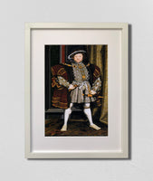 Portrait of Henry VIII (1547), Workshop of Hans Holbein the Younger