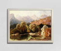 View of Mt Triglav from Bohinj (1861), Anton Karinger