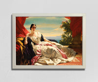 Portrait of Leonilla, Princess of Sayn-Wittgenstein-Sayn (1843), Franz Xaver Winterhalter