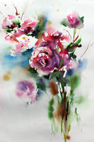 Watercolour Flowers 4