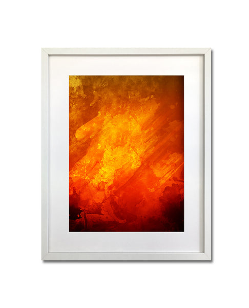 Untitled Abstract (Lava)