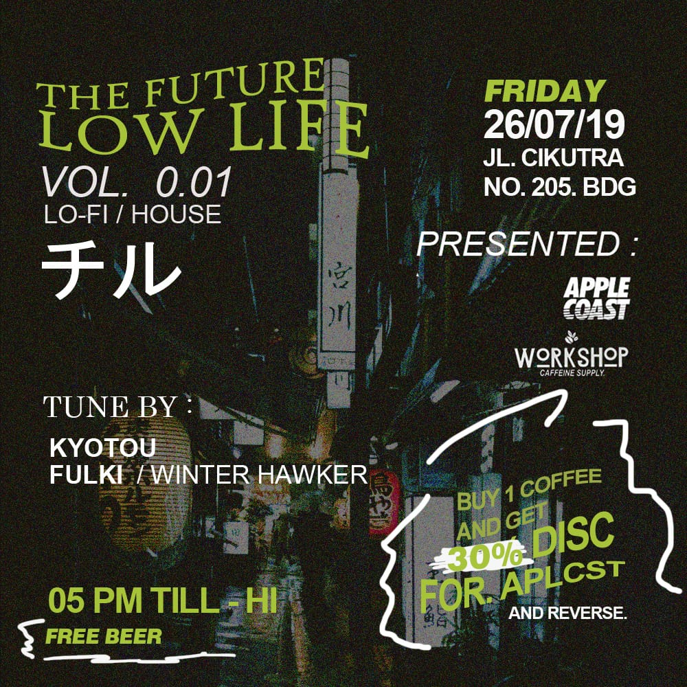 ( AFTER PARTY )THE FUTURE LOW LIVE vol 0.01