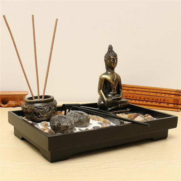 Univibe japanese zen garden kit set