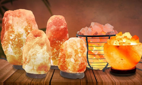 salt lamp therapy