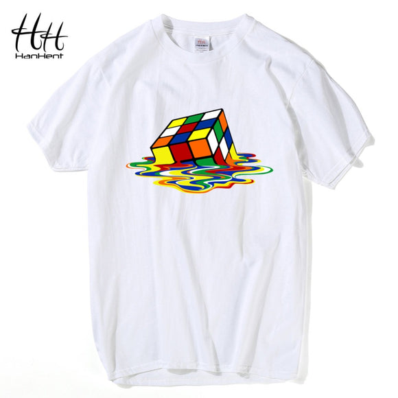 Men's cool Melting  Rubix box T-shirt