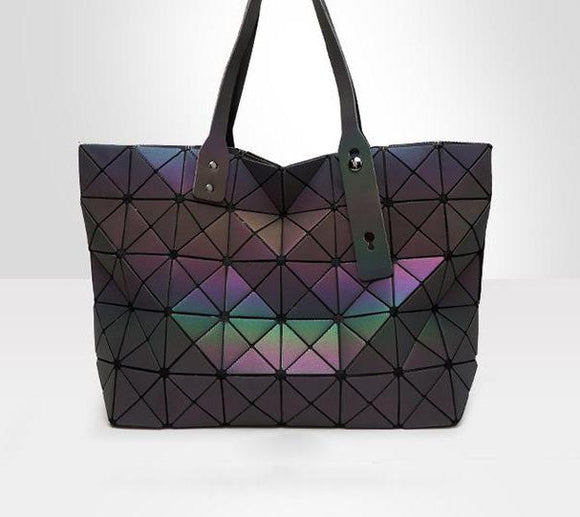 HOT! Women's geometric psychedelic tote bag