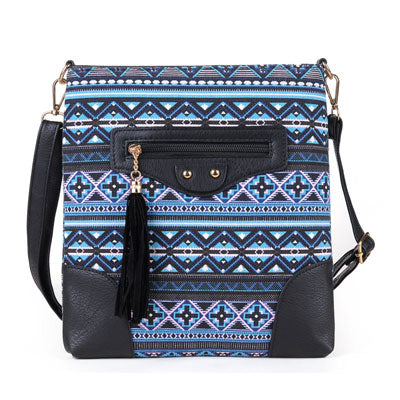 Elegant bohemian cross body shoulder boho bag