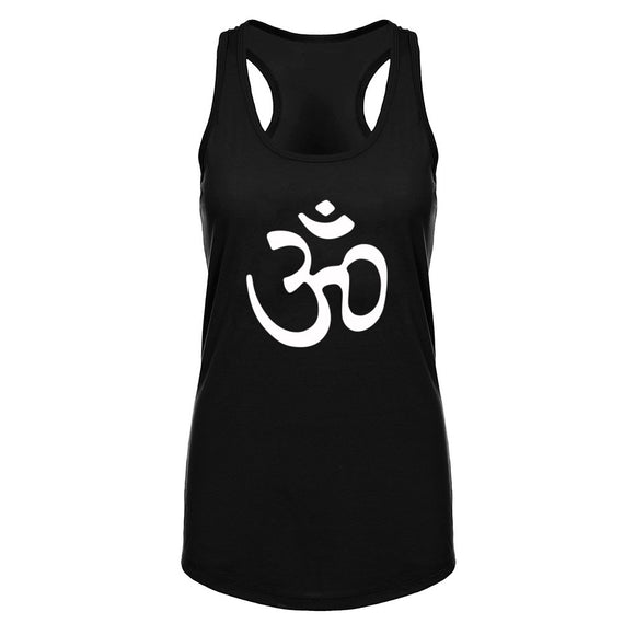 Univibe clothing Womens Om India Symbol Tank Top