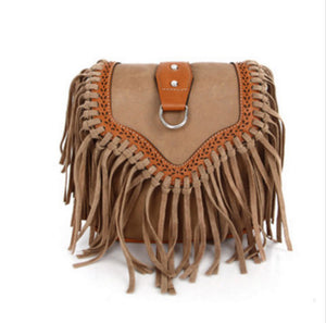 Univibe accessories univibe clothing Women's Gypsy Fringe Bohemian Shoulder Bag