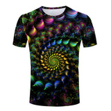 Unisex Colorful fractal psychedelic T-shirt univibe clothing clothes fashion trending now