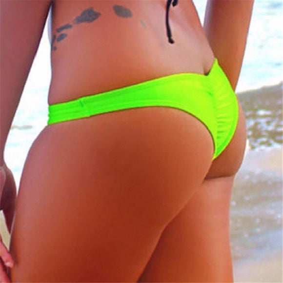 Sexy brazilian bikini thongs in variouus colors 2018