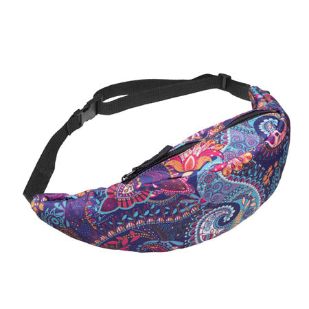 Psychedelic fanny pack - psytrance waist pack
