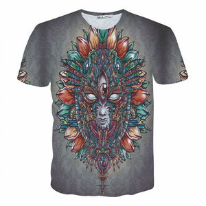 trippy Psychedelic T-Shirt 3d t shirt Size S- 3XL