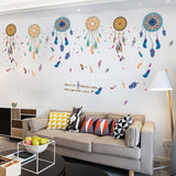Bohemian Dreamcatcher wall sticker vinyl