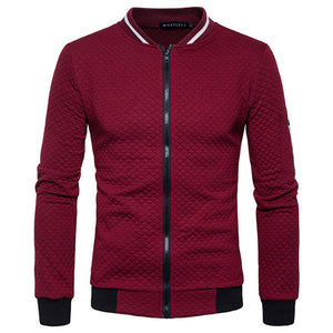 Univibe clothing Men's casual high quality spring street-style zipper jacket