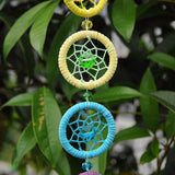 Wall hanging CHAKRAS with crystal home decoration