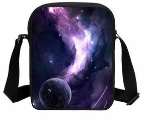 Top selling UNISEX Planets bag  crossbody galaxy bag