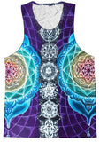 Hot selling Psychedelic printed chakras hoodie Unisex  Plus Size 3XL