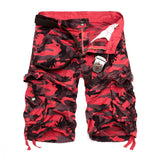 Univibe Men's summer camouflage Loose Cargo Shorts/pants