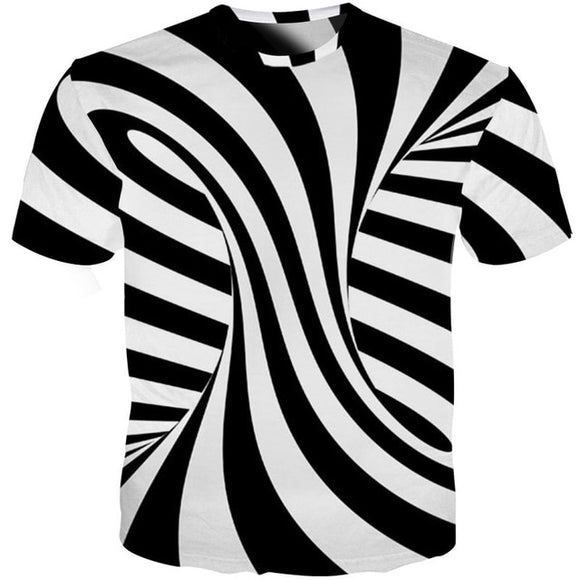 Univibe clothing Trending Geometric optical illusion shirt hypnotic unisex shirt clothing