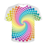 Univibe clothing psychedelic trippy  t-shirt optiical illusion hypnotic