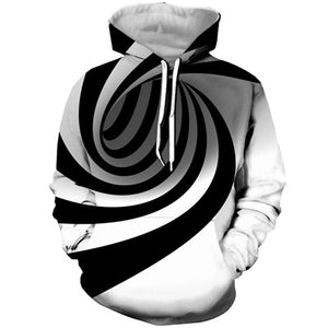 Univibe clothing mens trending fashion trippy psychedelic hoodie