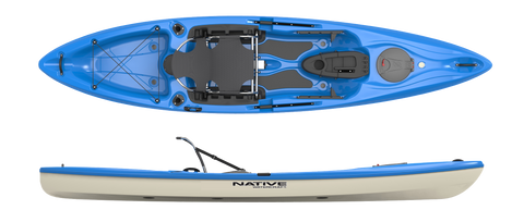 Native Watercraft Manta Ray Angler 12 LT Kayak - Performance Kayak