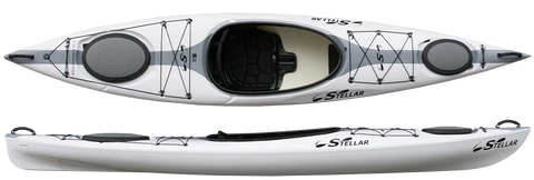 Stellar Kayak 12' (S12) Touring Kayak - Ultra - Woven - Performance Kayak
