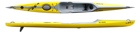 Stellar 18' Surf Ski (S18S) - Multisport - Performance Kayak
