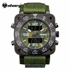 Japanese Watch Camoufle Military Green Army