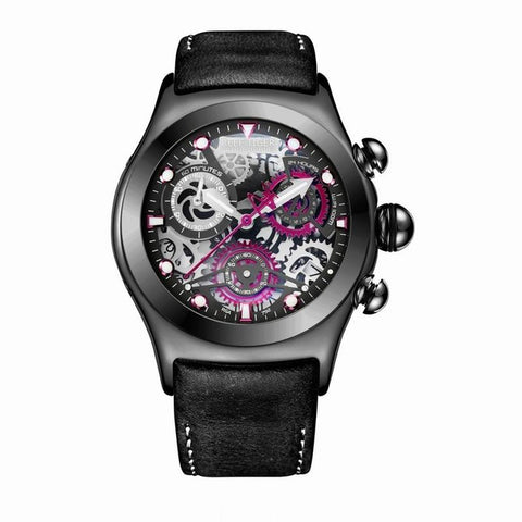 Chronograph Sport Watches for Men Skeleton