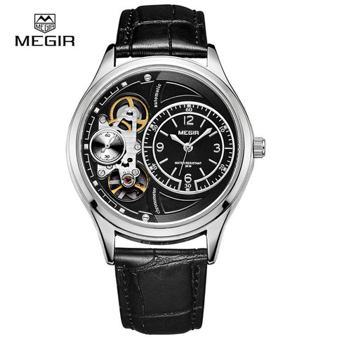 Leather  wristwatches men casual