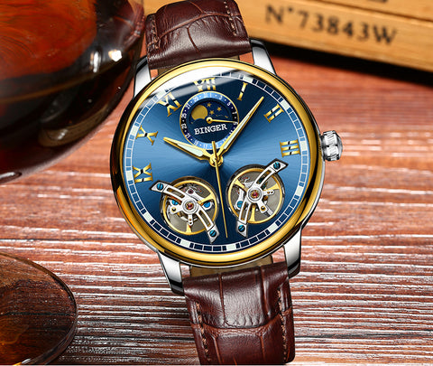 Watches men luxury brand sapphire toubillon
