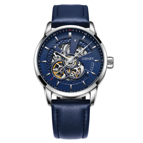 Men's watches automatic watch leather