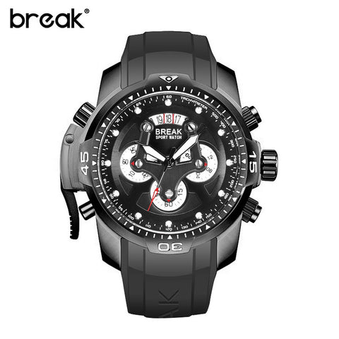 Top Brand Luxury Multifunction Waterproof Sports Watches Clock Men's Quartz Watch Male Military Wrist Watch Relogio Masculino