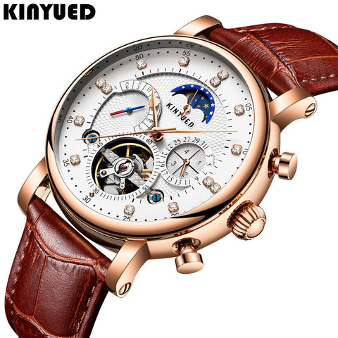 Automatic Mechanical Watches Moon Phase T