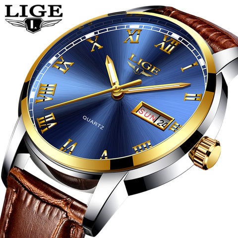 Watches Luxury Leather Casual Quartz