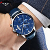 Luxury Quartz-watch Leather Band Waterproof