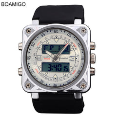 Watches sports Multifunction man square