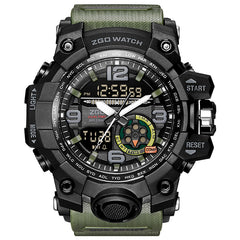 Military Watch 3 Bar Waterproof LED