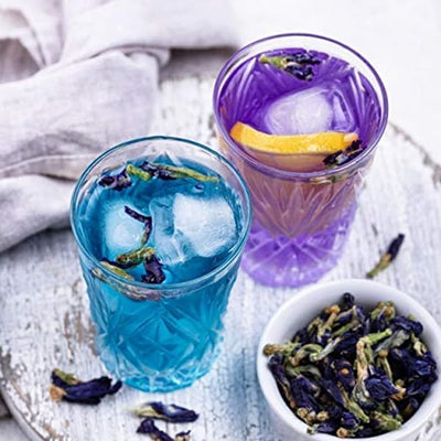 COMBO - Butterfly Pea Flower Tea & Hibiscus Flower Tea