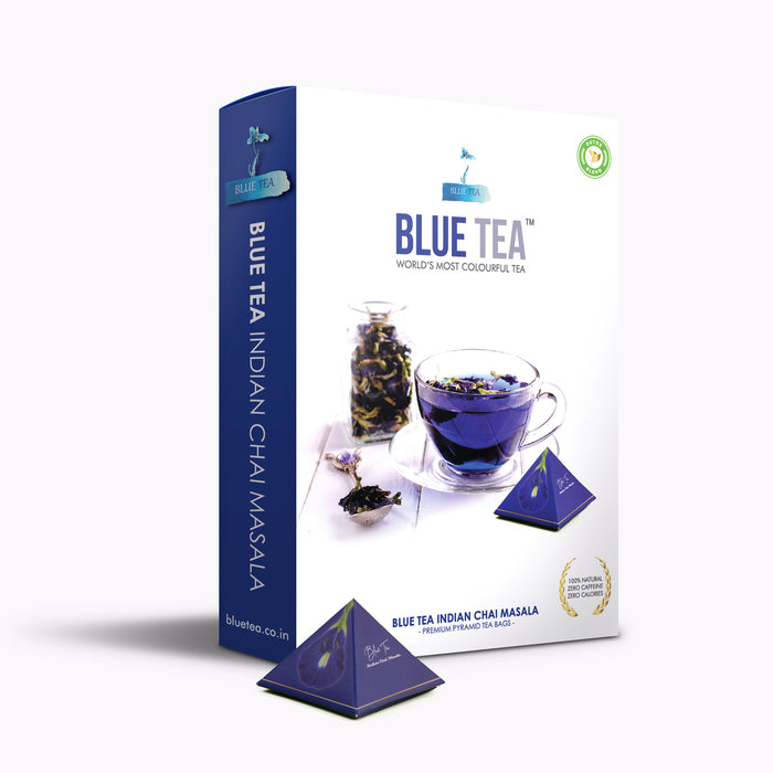 BLUE TEA Indian Chai Masala