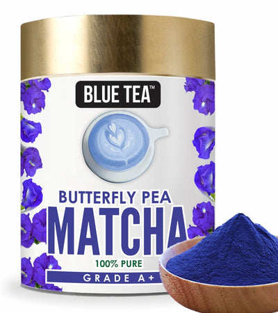 Butterfly Pea Blue Matcha Powder