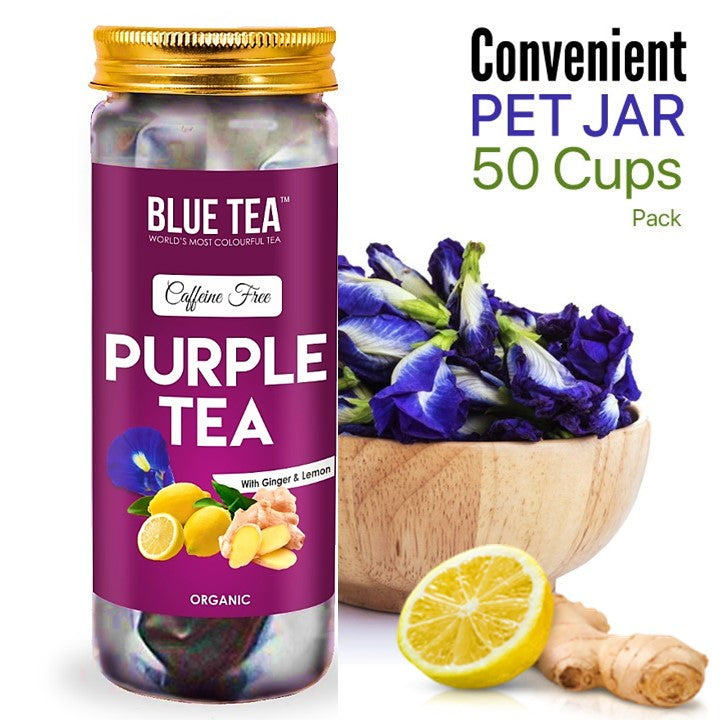 Purple Tea Spiced Lemon Loose Tea