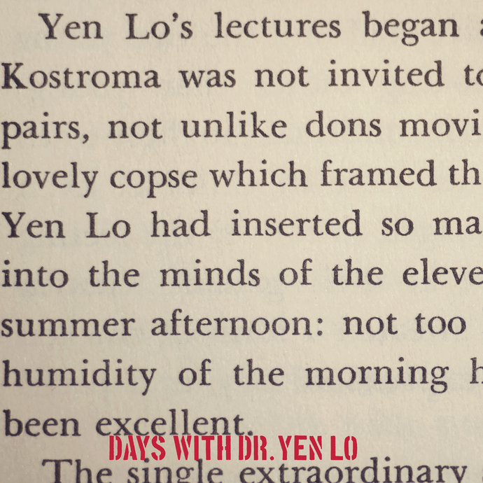 Days With Dr. Yen Lo CD