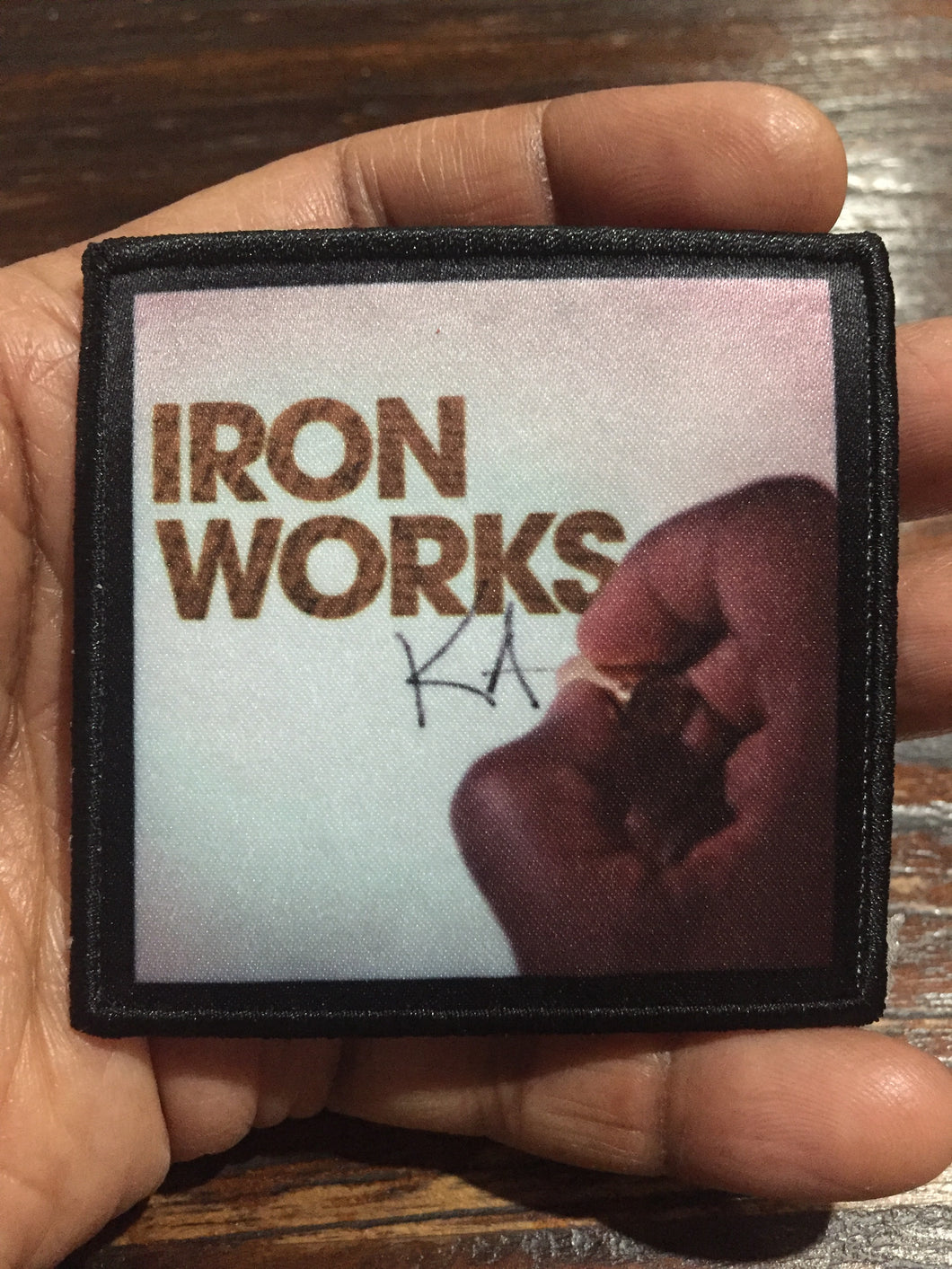 Iron Works Patch