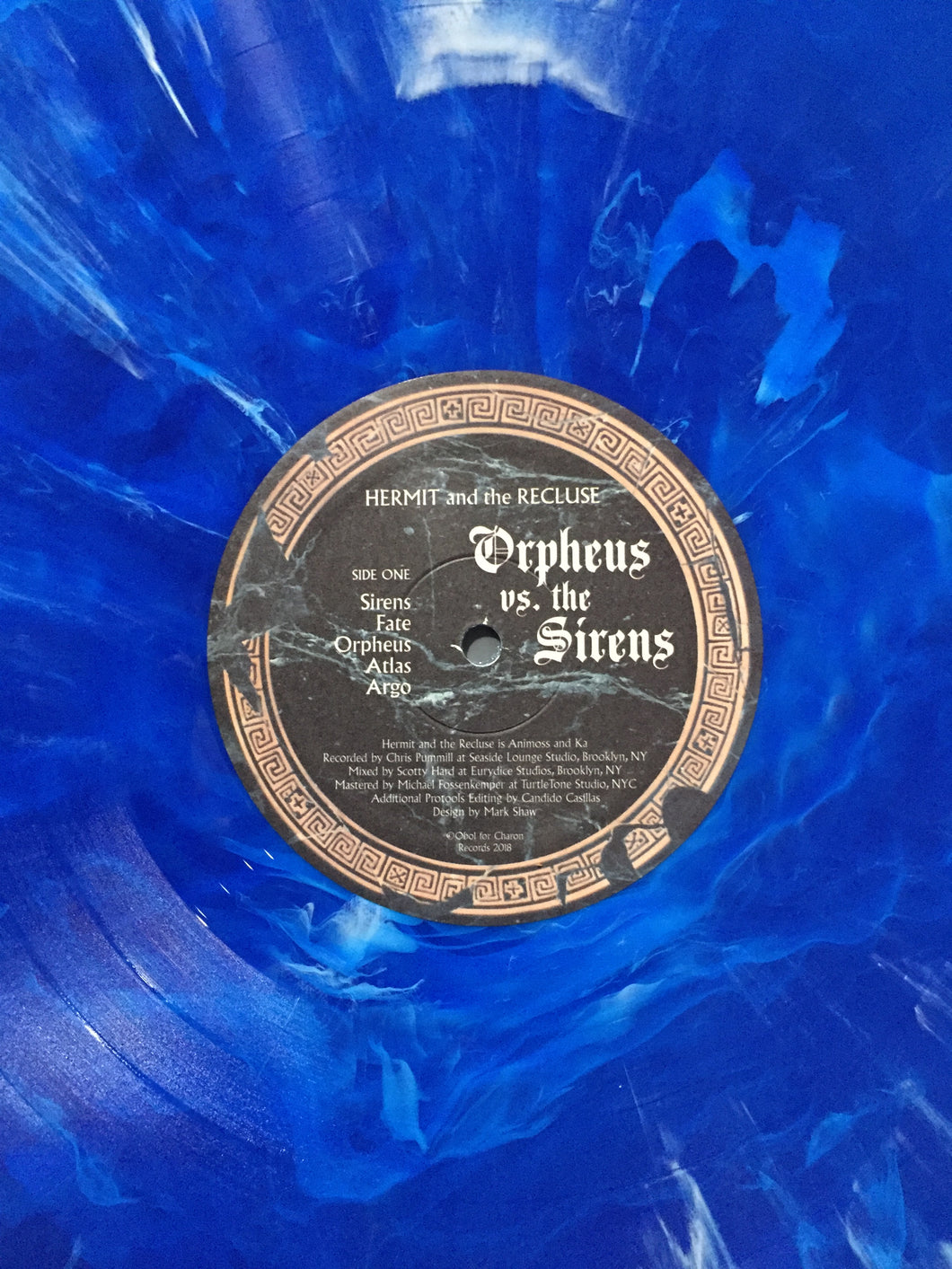 OCEAN BLUE Orpheus Vs. The Sirens Vinyl (A Limited 300)