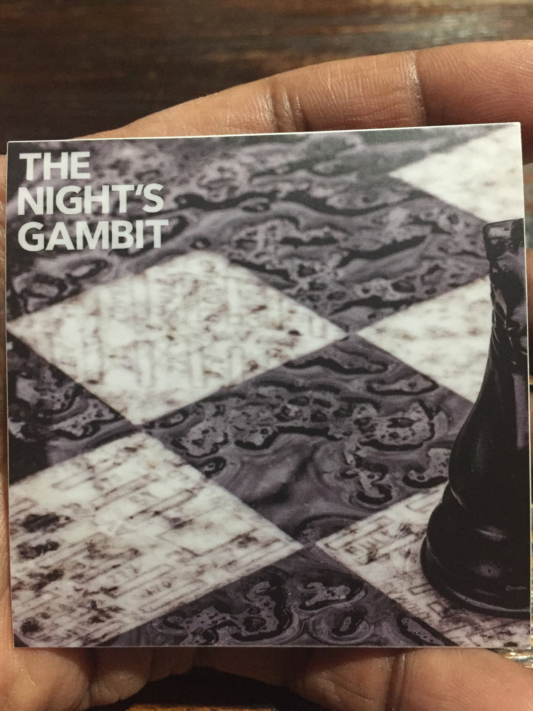 The Night's Gambit Sticker